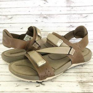 Merrell Terrant Strap Leather Comfort Sandals 11